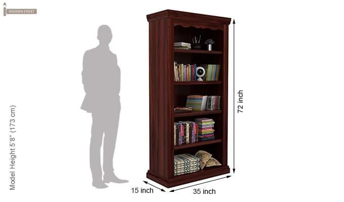 Nelson Bookshelf (Mahogany Finish)-5