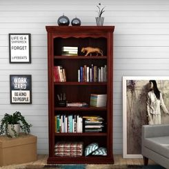 Nelson Bookshelf (Mahogany Finish)