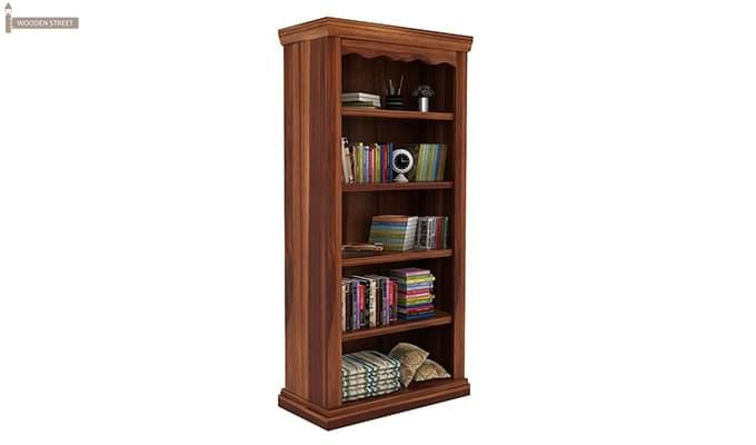 Nelson Bookshelf (Teak Finish)-3