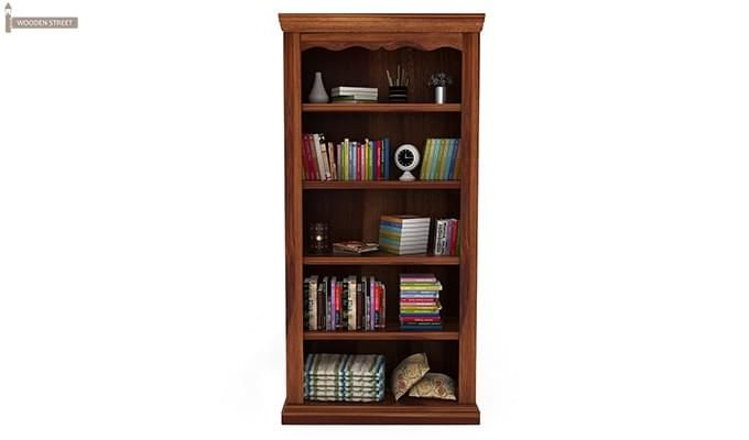 Nelson Bookshelf (Teak Finish)-4