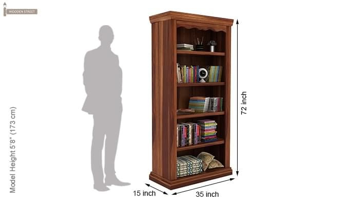Nelson Bookshelf (Teak Finish)-5