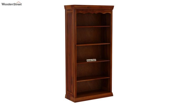 Nelson Bookshelf (Honey Finish)-3