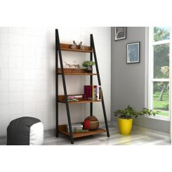 Olay Loft Slope BookShelf (Teak Finish)