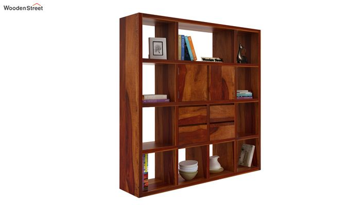 Orsini Bookshelf (Honey Finish)-2