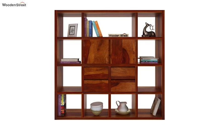 Orsini Bookshelf (Honey Finish)-3