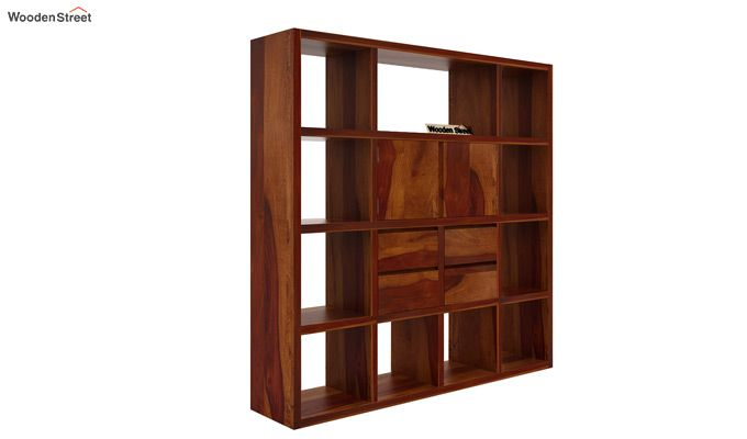 Orsini Bookshelf (Honey Finish)-4