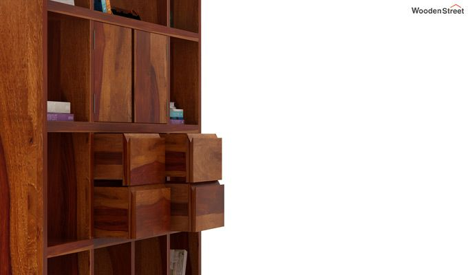 Orsini Bookshelf (Honey Finish)-5