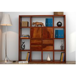 Orsini Bookshelf (Honey Finish)
