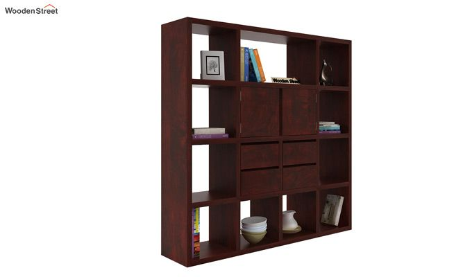 Orsini Bookshelf (Mahogany Finish)-1