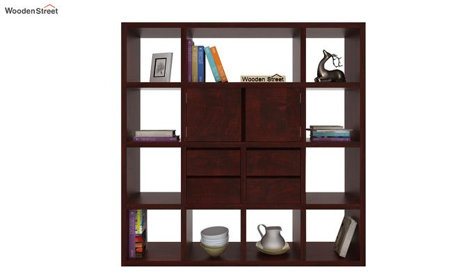 Orsini Bookshelf (Mahogany Finish)-2