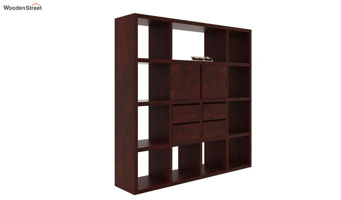 Orsini Bookshelf (Mahogany Finish)-3