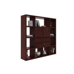 Orsini Bookshelf (Mahogany Finish)