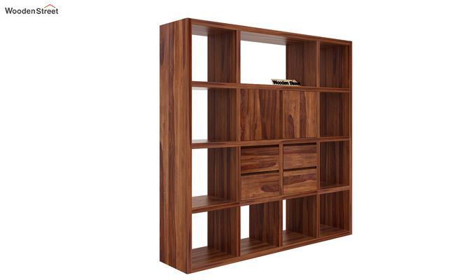 Orsini Bookshelf (Teak Finish)-3
