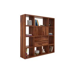 Orsini Bookshelf (Teak Finish)