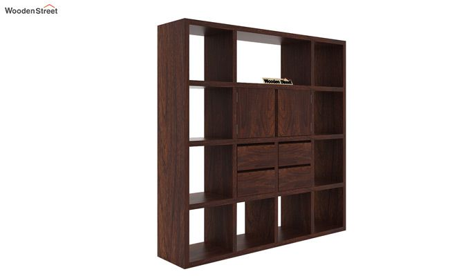 Orsini Bookshelf (Walnut Finish)-3