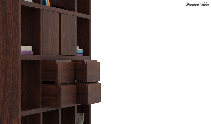 Orsini Bookshelf (Walnut Finish)-4