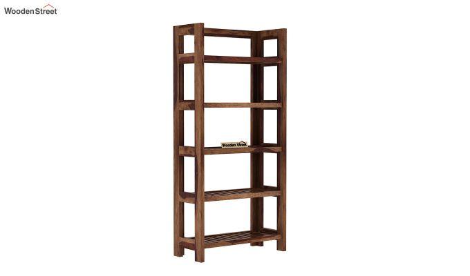 Osias Bookshelf (Teak Finish)-2