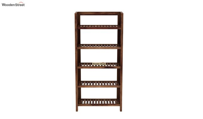 Osias Bookshelf (Teak Finish)-3