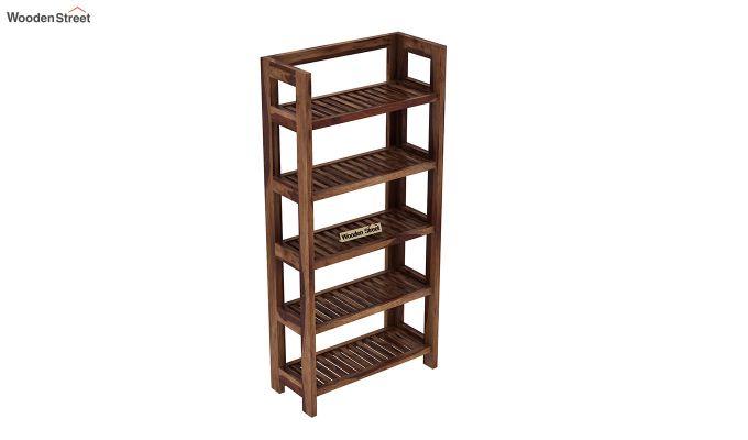 Osias Bookshelf (Teak Finish)-4