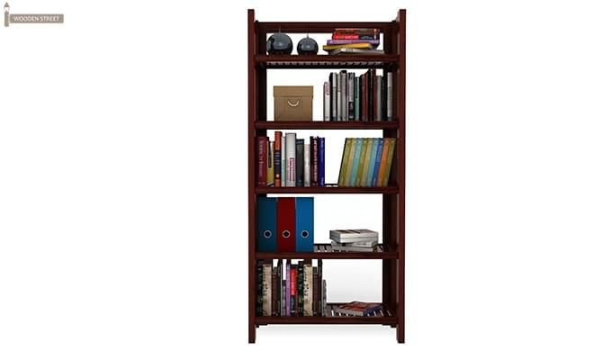 Osias Bookshelf (Mahogany Finish)-3
