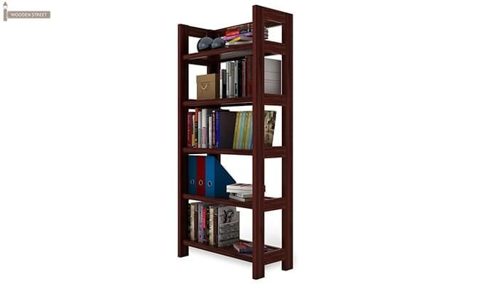 Osias Bookshelf (Mahogany Finish)-4
