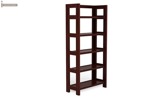 Osias Bookshelf (Mahogany Finish)-5