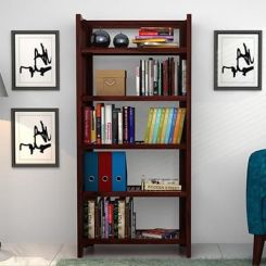 Osias Bookshelf (Mahogany Finish)