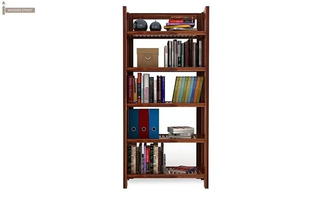 Osias Bookshelf (Teak Finish)-3