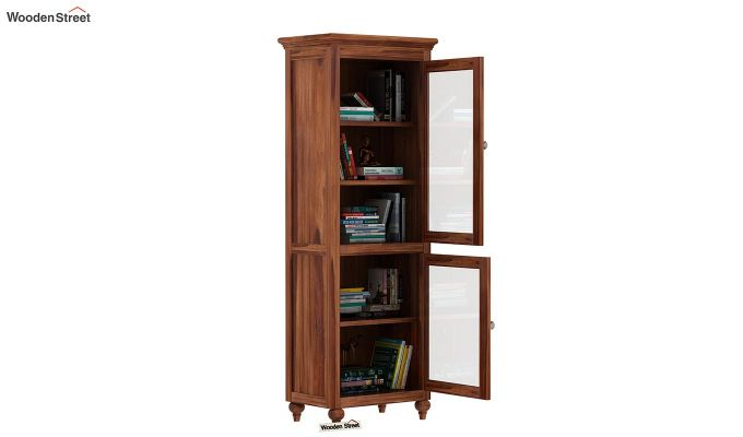 Osokin BookShelf (Teak Finish)-3