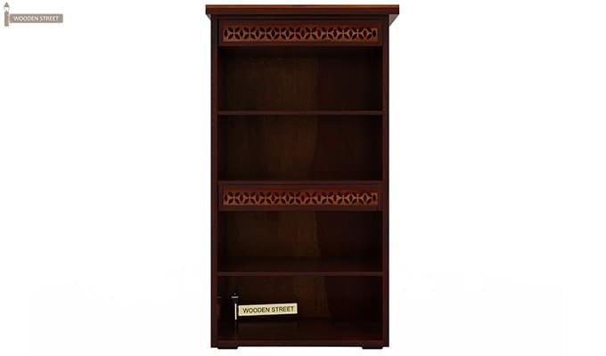 Pacino Book Shelves (Mahogany Finish)-6