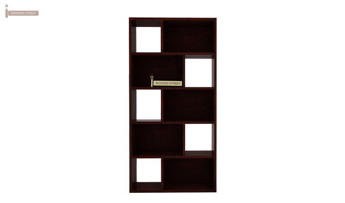 Pamela Book Shelf (Mahogany Finish)-3