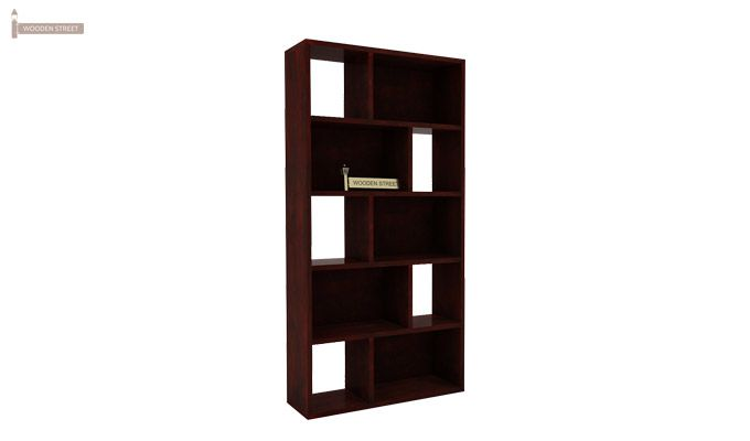 Pamela Book Shelf (Mahogany Finish)-4