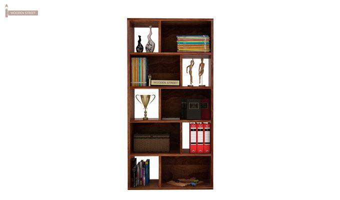 Pamela Book Shelf (Teak Finish)-2