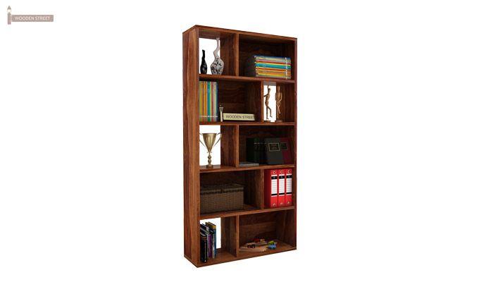 Pamela Book Shelf (Teak Finish)-1