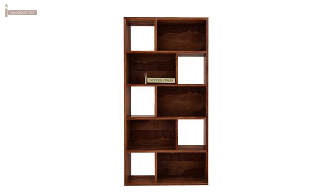 Pamela Book Shelf (Teak Finish)-3