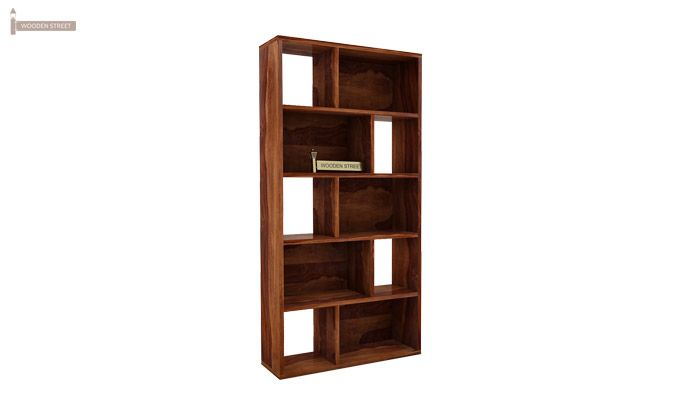 Pamela Book Shelf (Teak Finish)-4