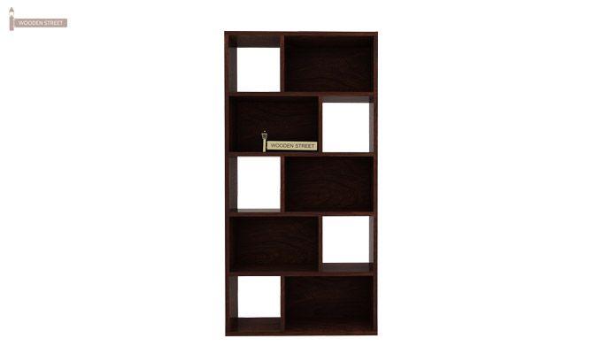 Pamela Book Shelf (Walnut Finish)-4