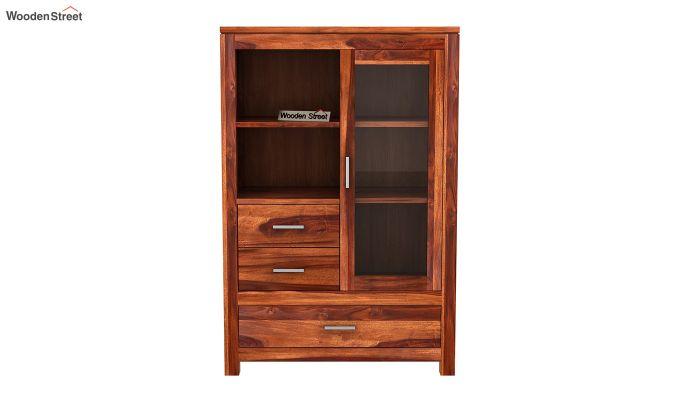 Pietro File Cabinet (Honey Finish)-3