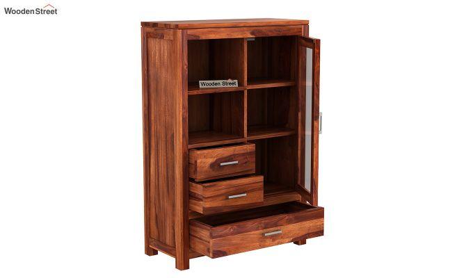 Pietro File Cabinet (Honey Finish)-4
