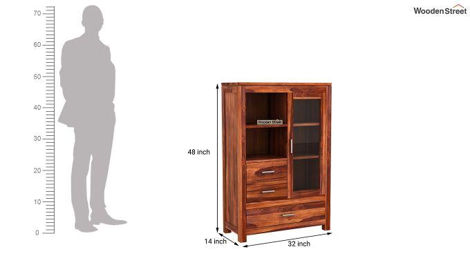 Pietro File Cabinet (Honey Finish)-6