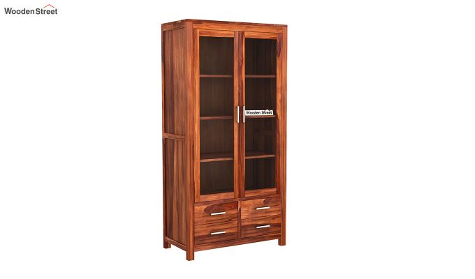 Portus Bookshelf (Honey Finish)-2