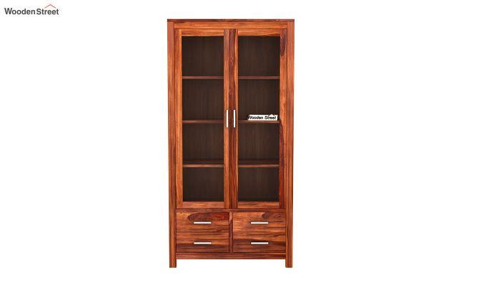 Portus Bookshelf (Honey Finish)-3