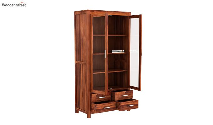 Portus Bookshelf (Honey Finish)-4