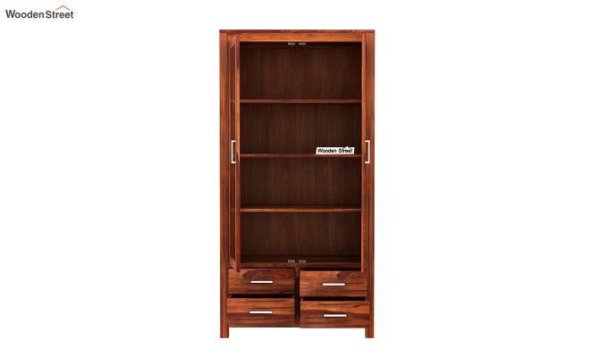Portus Bookshelf (Honey Finish)-5