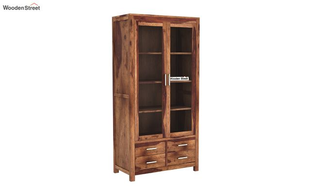 Portus Bookshelf (Teak Finish)-2