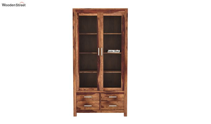 Portus Bookshelf (Teak Finish)-3