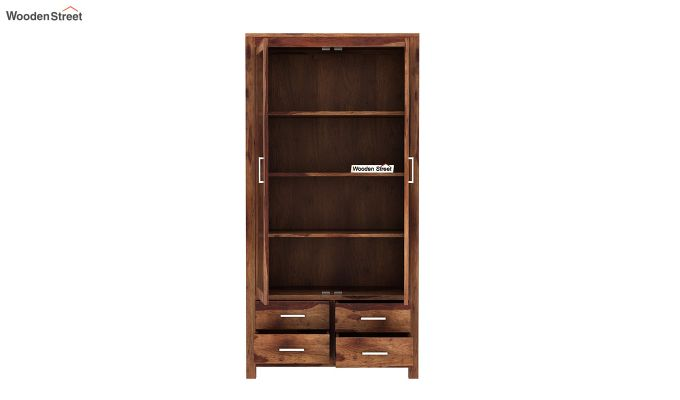 Portus Bookshelf (Teak Finish)-5