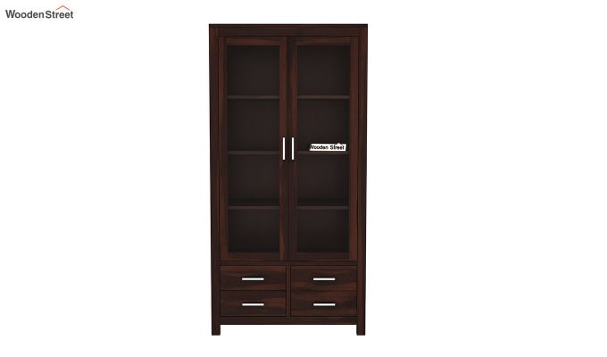 Portus Bookshelf (Walnut Finish)-3