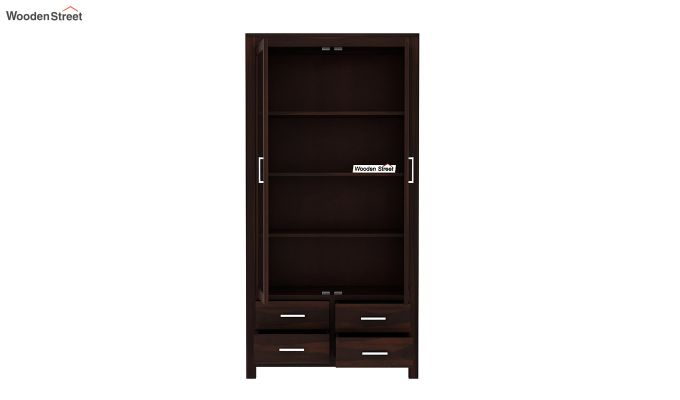 Portus Bookshelf (Walnut Finish)-5