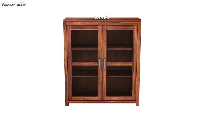 Portus Small Size Bookshelf (Honey Finish)-3